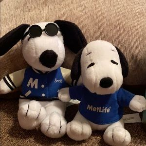 Peanuts Snoopy plush dogs